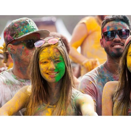 Pó Colorido para Festas