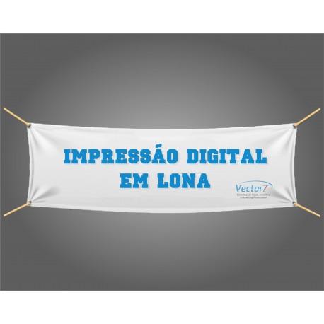 Lona Impressão digital